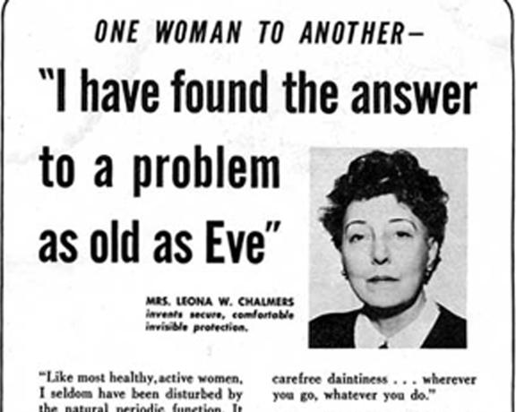 Rifiuti problematici: 74 anni fa la risposta era ecomestruazioni