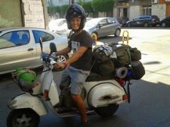 Da Genova ad Ankara in Vespa