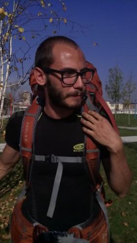 A spasso per l'Europa con Mattia pellegrino 2.0 da Venezia a Madrid